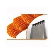 Насадка кондитерская нержавеющая Зубчатая лента 20*3мм, Артикул: BD 301, Производитель: Martellato (Италия)