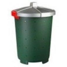 Бак пищевой полипропиленовый зеленый 65л, 47*66см