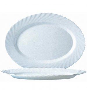 Блюдо овальное Трианон Arcoroc l=350 мм, Артикул: D6877, Производитель: Arcoroc (Франция)