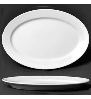 Блюдо овальное Bashfarfor L=360мм, Артикул: ИБД 03.360, Производитель: Башкирский фарфор (Россия)