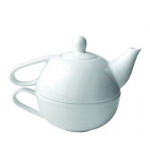 Набор чайный из 2 предметов Эгоист Bashfarfor 400мл, Артикул: ИЧК 28.400, Производитель: Башкирский фарфор (Россия)