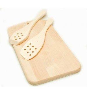 Лопатка деревянная L=28,5см, Артикул: С106, Производитель: Доски березовые (Россия)