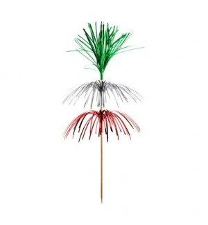 Пики деревянные Фейерверк 100 штук (15см), Артикул: 36819, Производитель: Pap Star (Германия)
