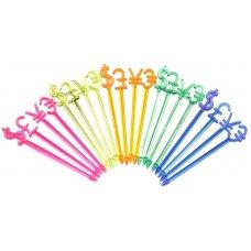Пики пластиковые Валюта 500 штук (8см), Артикул: 42539, Производитель: