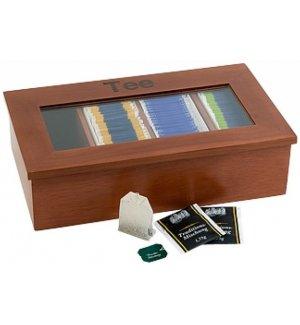 Контейнер для пакетиков чая APS 4 отделения, Артикул: 11574, Производитель: APS (Германия)