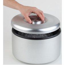 Емкость для льда алюминиевая Maxi APS 5л (h=20см, d=18,5см), Артикул: 36033, Производитель: APS (Германия)