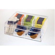 Контейнер для пакетиков чая APS 4 отделения