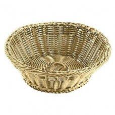 Корзина для хлеба круглая из полиротанга APS 25,5*8,5см, Артикул: 40135, Производитель: APS (Германия)