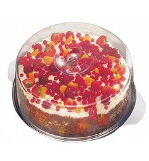 Блюдо для торта нержавеющая с крышкой APS d=30см, Артикул: 65, Производитель: APS (Германия)