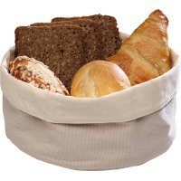 Корзина для хлеба бежевая из хлопка APS 17*8см