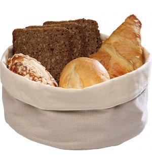 Корзина для хлеба бежевая из хлопка APS 17*8см, Артикул: 30340, Производитель: APS (Германия)