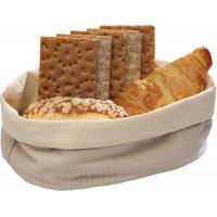 Корзина для хлеба бежевая из хлопка APS 25*18*9см
