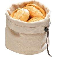Корзина для хлеба бежево-коричневая из хлопка APS 20*23,5см