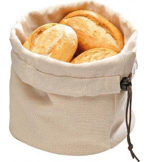 Корзина для хлеба бежево-коричневая из хлопка APS 20*23,5см, Артикул: 30390, Производитель: APS (Германия)