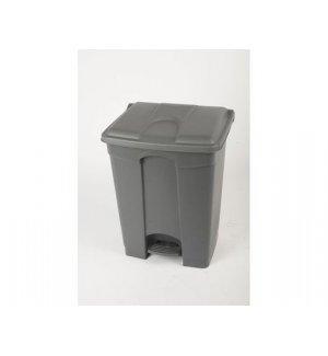 Бак для мусора с педалью, серый с серой крышкой Probbax 70л, Артикул: SO-1270-GRY+GRY, Производитель: Probbax (США)