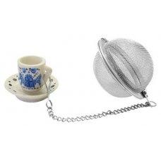 Ситечко для чая нержавеющее с цепочкой FM, Артикул: 49098, Производитель: Fackelmann (Германия)