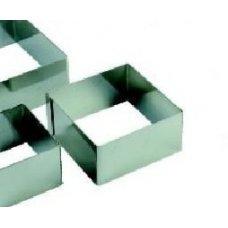 Форма для выкладки и выпечки Квадрат MGSteel 10*10*4см, Артикул: CRSQ3, Производитель: MGSteel (Индия)