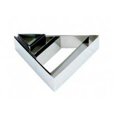 Форма для выкладки и выпечки Треугольник MGSteel 22*25*5см, Артикул: CRTG8, Производитель: MGSteel (Индия)