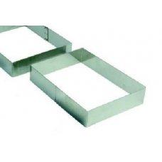 Форма для выкладки и выпечки Прямоугольник MGSteel 22*17*4см, Артикул: CRRT3, Производитель: MGSteel (Индия)