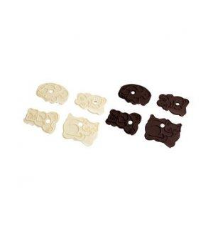 Набор резаков для объемных печений FM 4 штуки, Артикул: 43062, Производитель: Fackelmann (Германия)