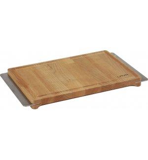 Доска для стейка с нержавеющими ручками LAVA 30*20*2,5см, Артикул: LV AS 150, Производитель: LAVA (Турция)