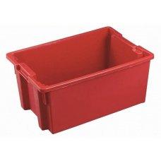 Ящик конусный, сплошной 600*400*200мм (красный)
