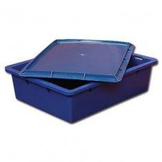 Ящик прямой, сплошной с крышкой 532*400*141мм, Артикул: 39539, Производитель: Агропак-Поставщик