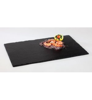 Блюдо для подачи прямоугольное сланец APS 53*32,5*0,5-0,8мм (GN1/1), Артикул: 990, Производитель: APS (Германия)