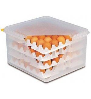 Контейнер для хранения яиц 8 лотков с крышкой APS, Артикул: 82419, Производитель: APS (Германия)
