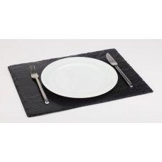 Блюдо для подачи прямоугольное сланец APS 45*30*0,4-0,7см