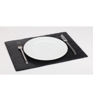 Блюдо для подачи прямоугольное сланец APS 45*30*0,4-0,7см, Артикул: 996, Производитель: APS (Германия)
