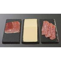 Блюдо для подачи прямоугольное сланец APS 32*12*0,5см