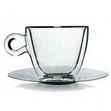 Набор чайных пар с двойными стенками Thermic Glass 2 штуки (165мл)