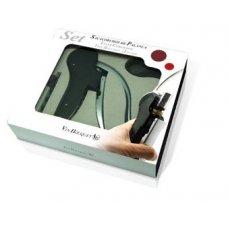Набор для вина из 2 предметов: штопор автоматический, обрезатель фольги VB, Артикул: FI 004 SET, Производитель: Vin Bouquet (Испания)