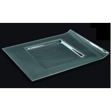 Блюдо из прозрачного стекла 3D GLASSWARE 300*230мм