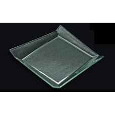Блюдо из прозрачного стекла 3D GLASSWARE 250*250мм, Артикул: 2525-1B55-94-004, Производитель: 3D Glassware (Турция)