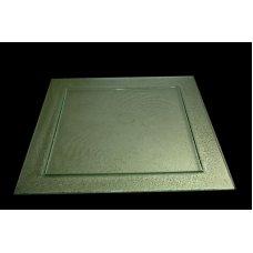 Блюдо из прозрачного стекла 3D GLASSWARE 500*500мм