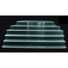 Этажерка 6-ти ярусная из прозрачного стекла 3D GLASSWARE 510*450мм, Артикул: 4551-69-64-46-003, Производитель: 3D Glassware (Турция)