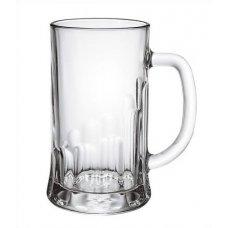 Кружка для пива Пит 0,5л, Артикул: 1253, Производитель: Опытный стекольный завод (Россия)