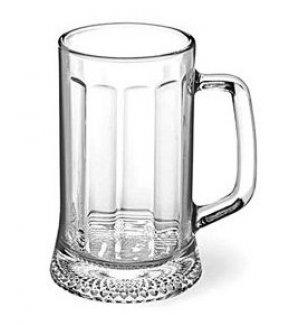 Кружка для пива Ладья 0,33л, Артикул: 1486, Производитель: Опытный стекольный завод (Россия)