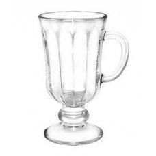 Бокал для Irish Coffee Глинтвейн с гранями 200мл, Артикул: 1561, Производитель: Опытный стекольный завод (Россия)