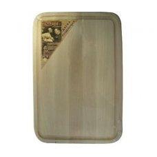 Доска разделочная с желобком из березы 300*200*16мм