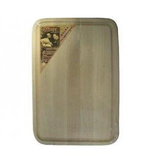 Доска разделочная с желобком из березы 300*200*16мм, Артикул: С385, Производитель: Доски березовые (Россия)