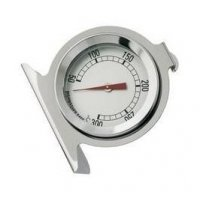 Термометр для печи Tellier от +50°C до +300°C, с ценой деления в 10°C