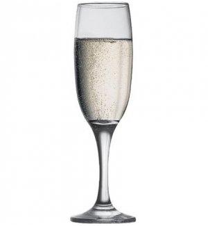 Бокал-флюте для шампанского Империал 215мл, Артикул: 44704, Производитель: Pasabahce (Турция)
