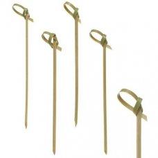 Пики деревянные Узелок 100 штук (9см), Артикул: 42361, Производитель: