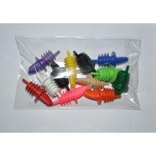 Гейзер пластиковый цветной MG набор из 12 штук