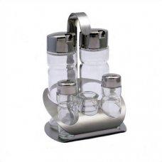Набор для специй 5 предметов Спайс (масло/уксус/соль/перец/зубочистки), Артикул: 418, Производитель: Star industrial Co. Ltd (Китай )