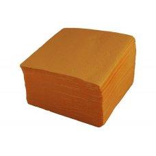 Салфетки однослойные желтые 400 штук (24*24см), Артикул: 1760, Производитель: Мастергласс (Россия)